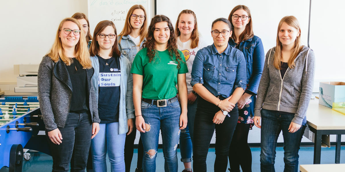 Girls Go Informatics April 2019